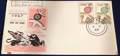 Ireland Europa 1967 First Day Cover