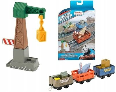 Thomas & Friends Fhm72 Holz Launisch At The Docks Spielset Film- & TV-Spielzeug