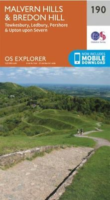 OS Explorer map 190: Malvern Hills and Bredon Hill