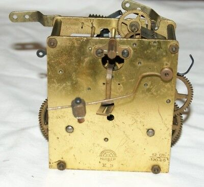 Antique HALLER Clock Movement, Spares/Repair