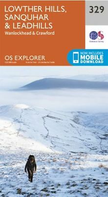 OS Explorer 329: Lowther Hills, Sanquhar and Leadhills