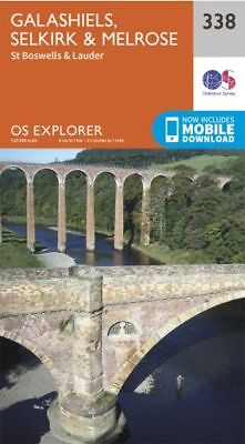 OS Explorer 338: Galashiels, Selkirk and Melrose