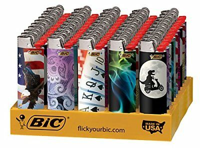 BIC Full Size Limited Special Edition Disposable Lighters Assorted Styles 10