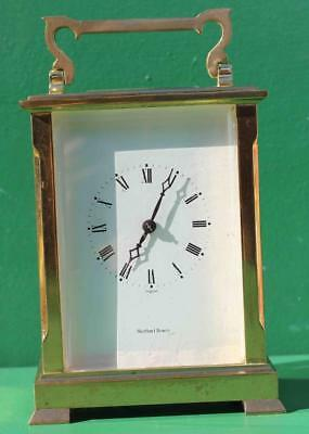 Very Large L'epee 8 Day Striking Carriage Clock