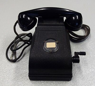 Vintage, Antique, Desk Telephone, Federal Telephone & Radio Corp.