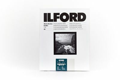 "ILFORD MGIV RC 8x10"" 25 Sheets PEARL Multigrade 10x8 Darkroom paper"