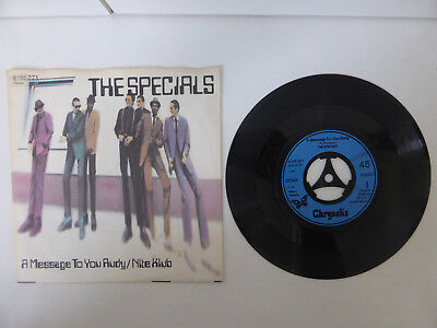 "The Specials, A Message To You Rudy/ Nite Club, 7"" Single, GER 1979"