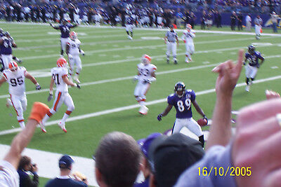 """RAVENS vs BROWNS Dec 30th 1pm. 2 LL Tix Sec. 146,  Row 6 With Parking in Lot """"A"""""""