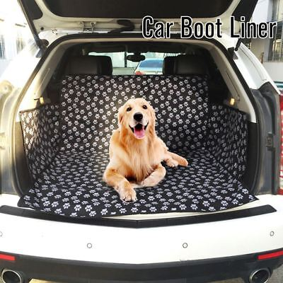 Pet Seat Cover for Dogs Car Back Seat Protector Hammock Waterproof Adjustable US