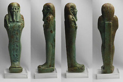 26. to 30 DYNASTY EGYPTIAN USHABTI -  SHABTI FOR Padjiset