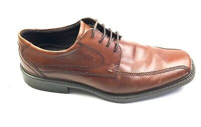 010cbba3c7c ECCO Men s New Jersey Bicycle Toe Tie Shoes Oxfords Dress Shoes Size 44  10 10.5