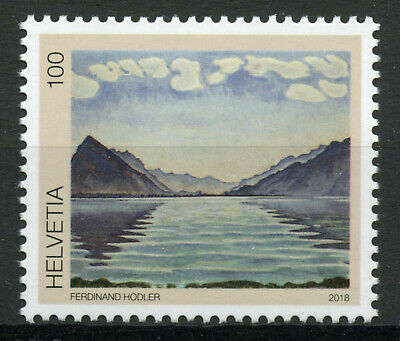 Switzerland 2018 MNH Ferdinand Holder Lake Thun 1v Set Art Paintings Stamps