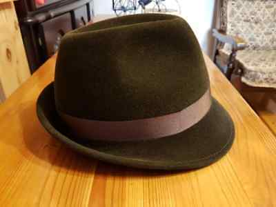 Laird Hatters 620 Trilby hat, size 55