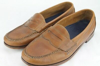 Cole Haan Size 10D Light Brown Mens Dressy Slip on Penny Loafers