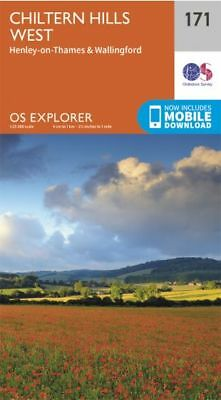 OS Explorer 171: Chiltern Hills West, Henley-on-Thames and Wallingford