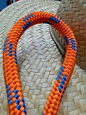 """200' 1/2"""" Premium Polyester Double Braid made in USA - sheetline, halyard - 1197"""
