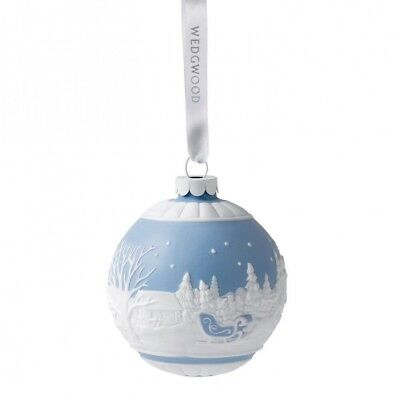 Wedgwood Sleigh Ride Holiday Ornament