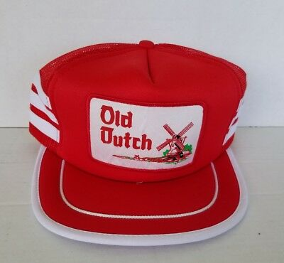 Vintage Old Dutch Trucker Cap Hat Snapback mesh