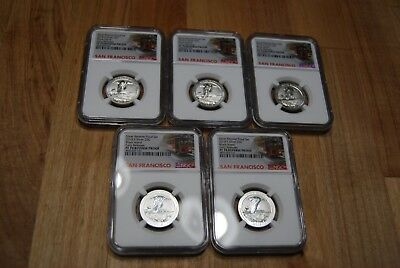 1 2018 S Silver Reverse Proof Block Island 25C Early Release NGC PF 70