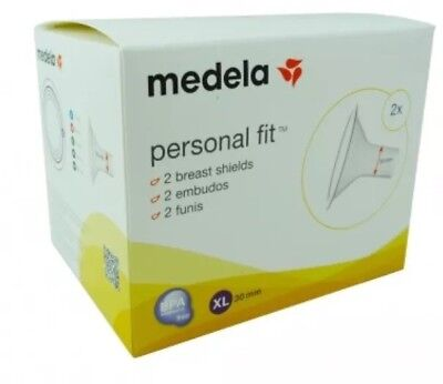 BNIB Medela Personal Fit Breast Shields Size XL 30mm