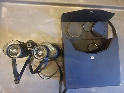 Vintage Super Zenith Binoculars In Case 20 X 50 Field 3