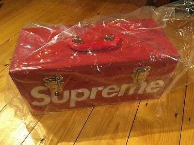 Supreme Red Tool Box Accessories Rare Deadstock Items Collectible