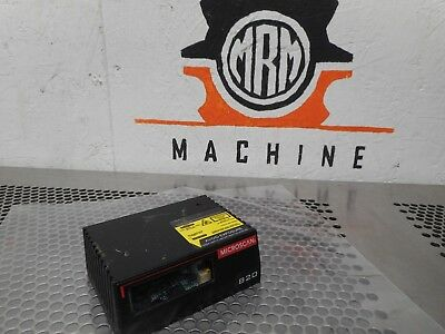 MICROSCAN FIS-0820-0002 MS-820 Laser Barcode Scanner Lightly Used With Warranty