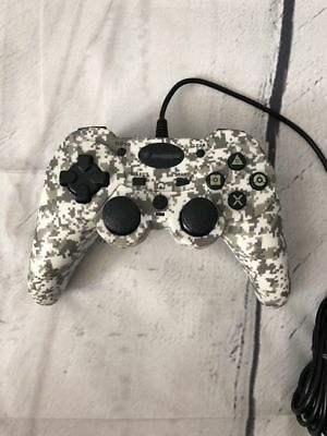 Lot of 25 - New Wholesale  PS3 Camo White Wired Controller Play Station 3
