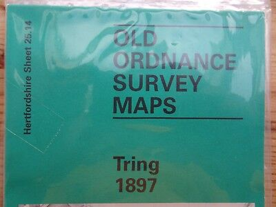 Old Ordnance Survey Map - TRING 1897 - New - Free Postage