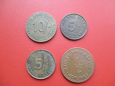 3 Williams Bros tokens and 1 Joplings token (ref A1)