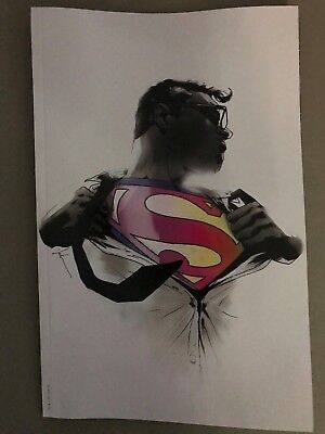 ACTION COMICS #1000 LIMITED EDITION EXCL JOCK MONOCHROME VIRGIN VARIANT Superman