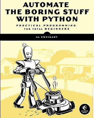 AUTOMATE THE BORING STUFF WITH PYTHON... PDF book in High Quality