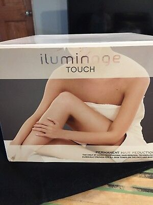 iluminage Beauty Touch Elos at Home Hair Removal System FG70701. READ DESC.