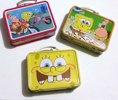 SpongeBob SquarePants Mini Tin Lunchboxes, Set of 3