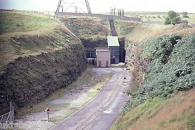 British Rail Old Woodhead tunnel cutting 15th September 1978 Rail Photo