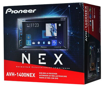 "Pioneer AVH-1400NEX 6.2"" Double-Din Car Receiver Bluetooth Android Auto/Car Play"