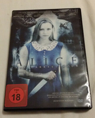 "Alice - The Darkest Hour   DVD NEU FSK 18 ""Alice im Gruselland"""