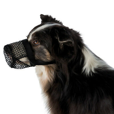 Dog Muzzle Poisoned Bait Protection, Polyester Allows panting sniffing drinking