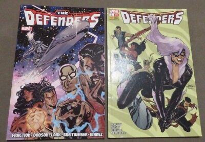 The Defenders Paperbacks 1 & 2 - Defenders #1-12 Marvel Iron Fist Silver Surfer