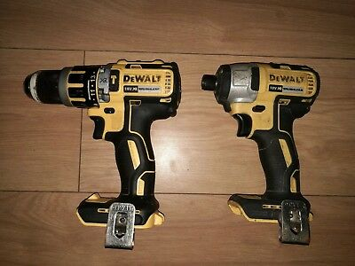 Dewalt Dcf886 18V Brushless Impact Driver  And Dcd795 Combi Drill Body Only