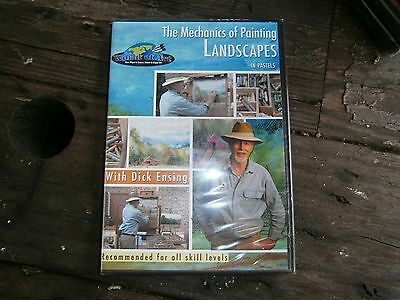 THE MECHANICS OF PAINTING LANDSCAPES DICK ENSING PASTELS DVD Discount art supply