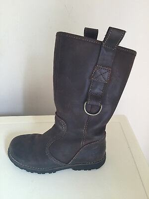 Girls Timberland Earthkeepers Leather Boots Size 12