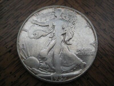 1937-D Walking Liberty Half Dollar - Nice Circulated Coin!