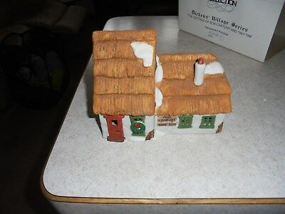 dept 56 the cottage of bob cratchit and tiny tim first series with original box
