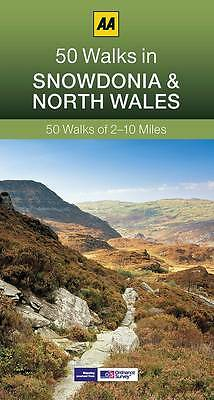 50 Walks in Snowdonia by AA Publishing (Paperback, 2013)