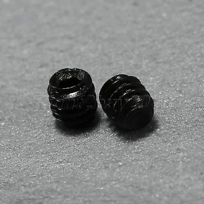 50Pcs M2×2mm Cable Grub Screws Headless Cup Point Hex Socket Screw Fasteners