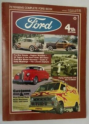 Vintage Original 1976 Petersen's Complete Ford Book 4th Edition