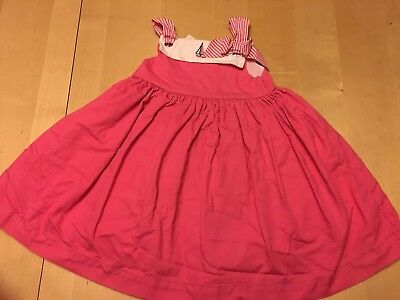 Janie And Jack Sailboat Dress, Pink, Sleeveless, Sz 2, Notes