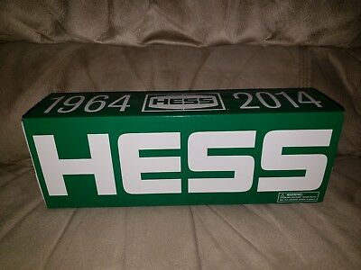 HESS 1964-2014 50th Anniversary LIMITED EDITION TRUCK NIB