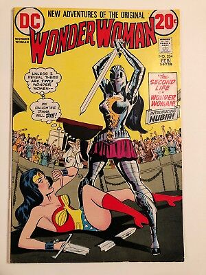Wonder Woman #204 Nubia First Appearance FN+